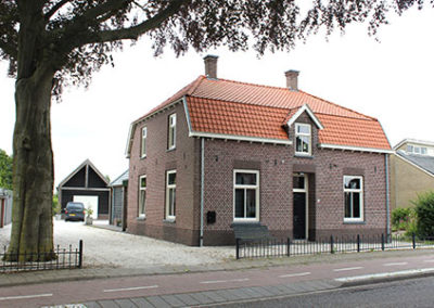 Verbouw bijgebouw Mill Noord-Brabant