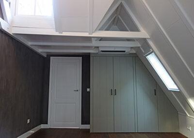 Dakconstructie verbouwing zolderkamer Den Bosch