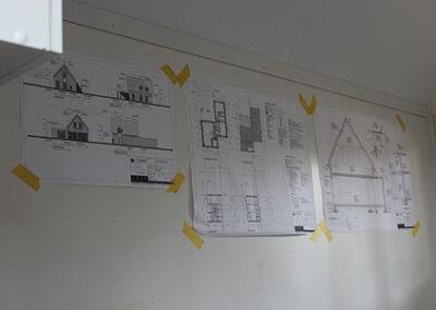 Planning van de bouw