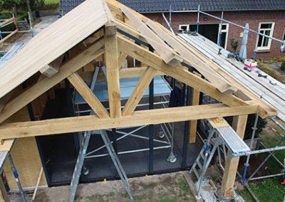 plafondafwerking tuinkamer Zeeland