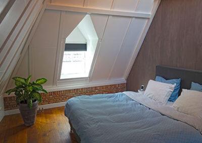 Verbouw van zolder naar slaapkamer Den Bosch